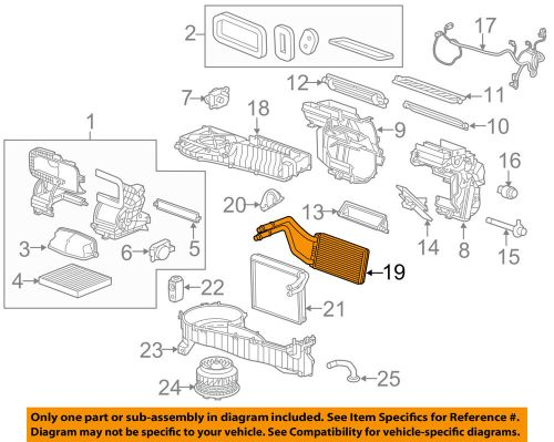 small resolution of details about gm oem hvac heater core 23135678