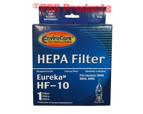 Eureka Type Hf 10 Hepa Filter 8800 8850 Series Upright Vacuum Cleaner 63347 Boss