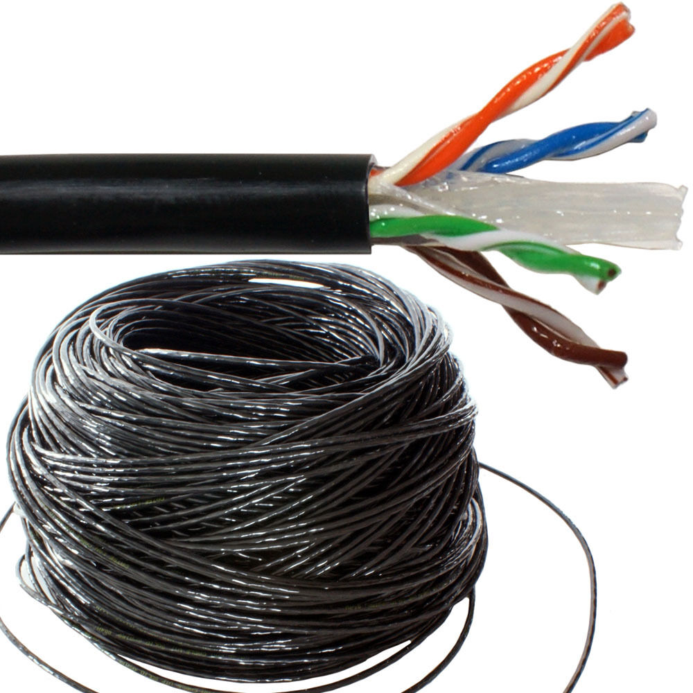 External Grade Cat 5e Cat 6 Cables Structured Wiring Cables Data
