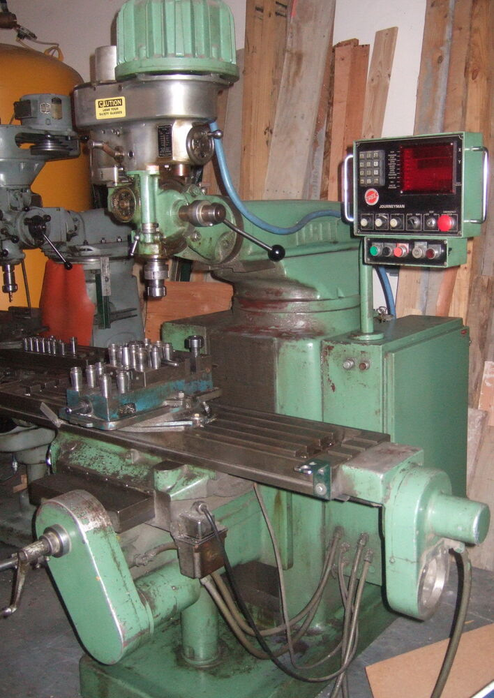 Tree Journeyman CNC Vertical Mill 2UVR C Milling Machine With Vice Collets EBay