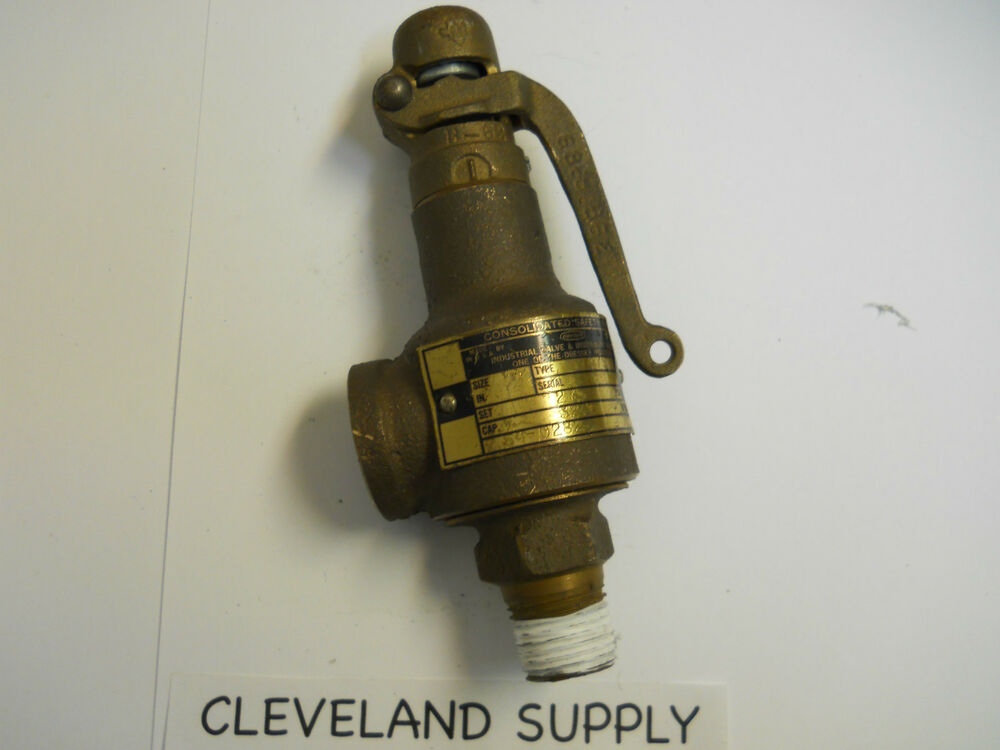 DRESSER CONSOLIDATED 1479 SAFETY RELIEF VALVE 275 PSI 12