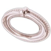 2 x CHROME LARGE/WIDE OVAL DROP RING PULL HANDLE Furniture