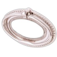 2 x CHROME LARGE/WIDE OVAL DROP RING PULL HANDLE Furniture ...