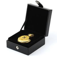 Pocket Watch Gift Box Case Display Cover Holder Leather ...