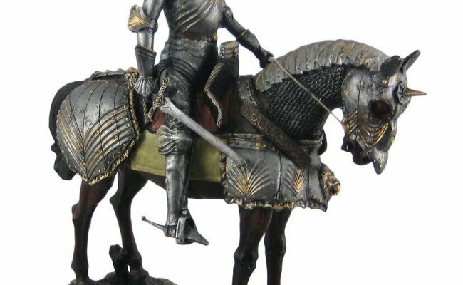 13 Height Large Medieval Knight On Horse Calvary Royal