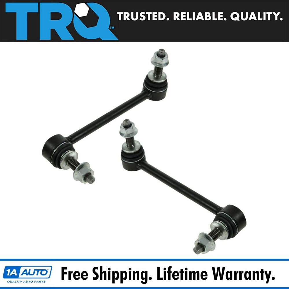 hight resolution of front sway bar link pair set for dodge challenger charger front sway bar diagram sway bar links