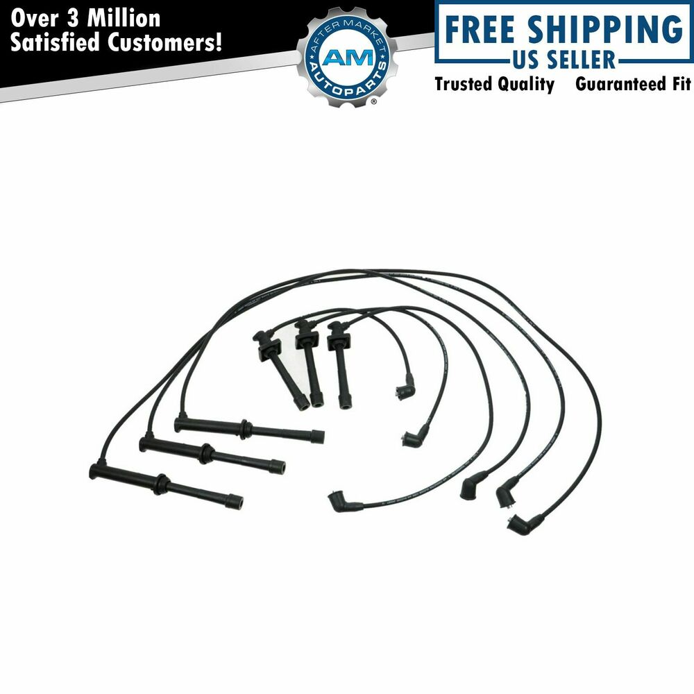 Ignition Spark Plug Wire Set Kit for Ford Probe Mazda 626