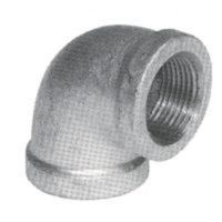 LOT (10) 3/4 INCH GALVANIZED PIPE THREADED 90 ELBOW ...