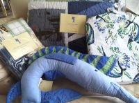 Pottery Barn Kids SURFSIDE Blue Twin QUILT Bed SET Boys