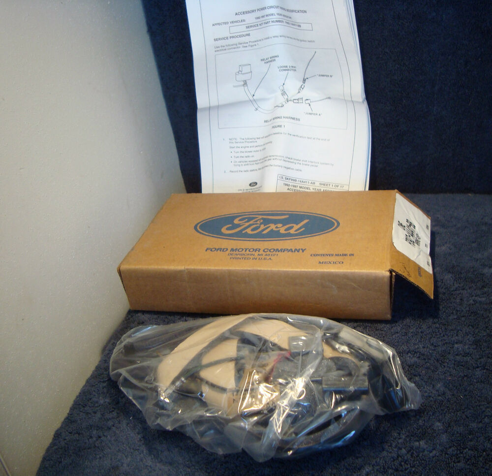 hight resolution of details about wire harness kit ignition power new ford f89z14a411bb aerostar 1992 1997 a8