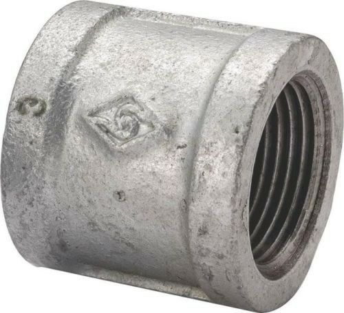 LOT (20) 1/2 INCH GALVANIZED PIPE THREADED COUPLING