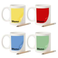 380ml Memo Note Mug Personalised Novelty Kitchen Notes