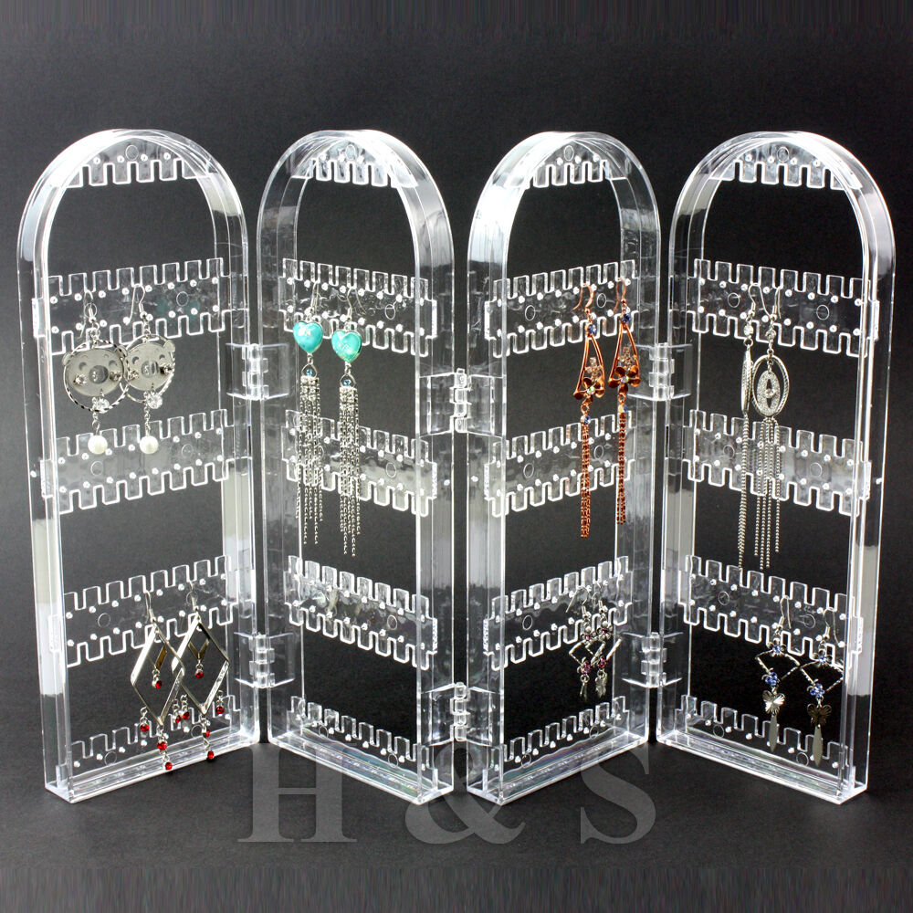 Screen Stud Earring Jewellery Display Stand Unit Holder