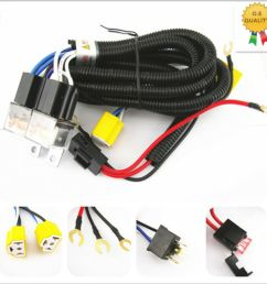 h4 headlight 2 head lamp relay socket plug wiring harness dodge ram headlight wire harness headlight wire harness diagram [ 1000 x 1000 Pixel ]