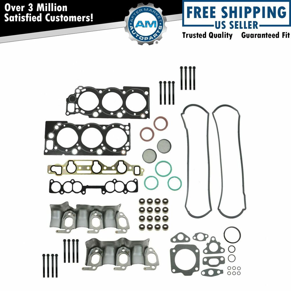Cylinder Head Gasket Set with Bolts Kit for Toyota Pickup