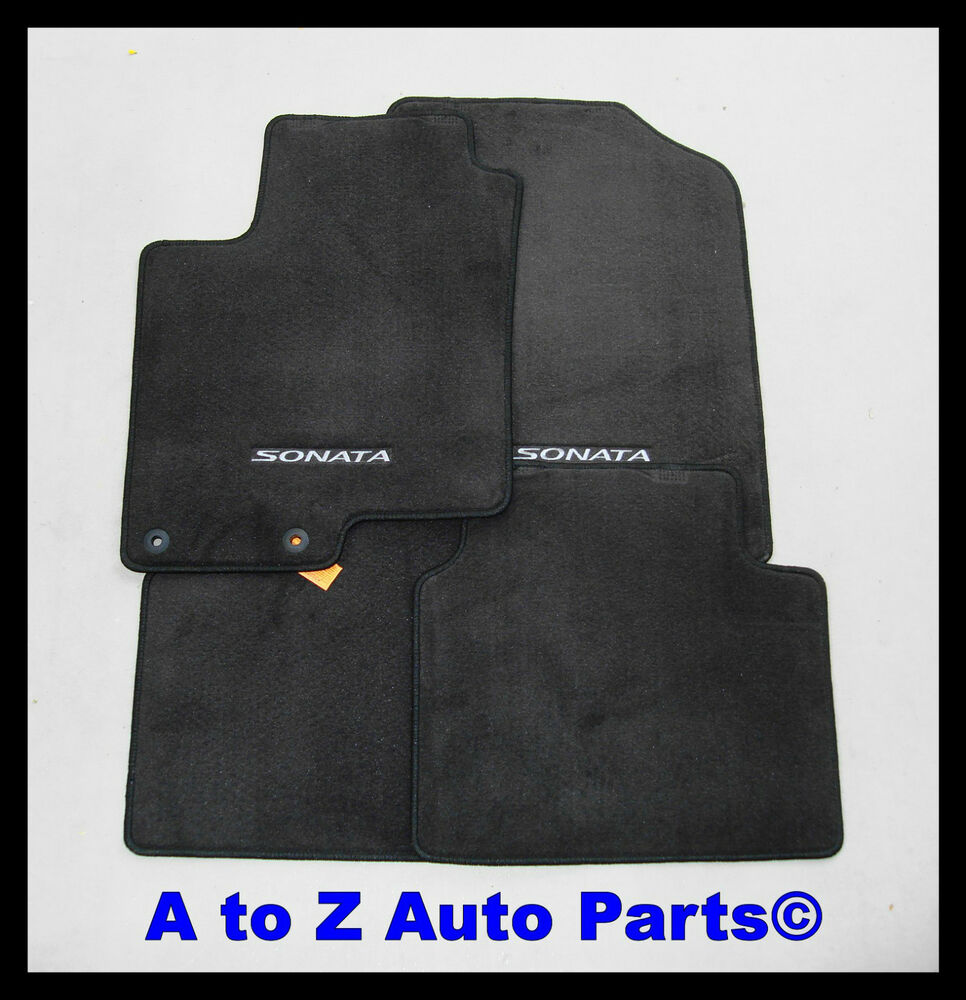 NEW 20092010 Hyundai Sonata FRONT  REAR set of Carpeted