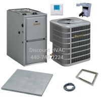 Ducane by Lennox 45,000 BTU 95% Gas Furnace + 1.5 ton 13 ...