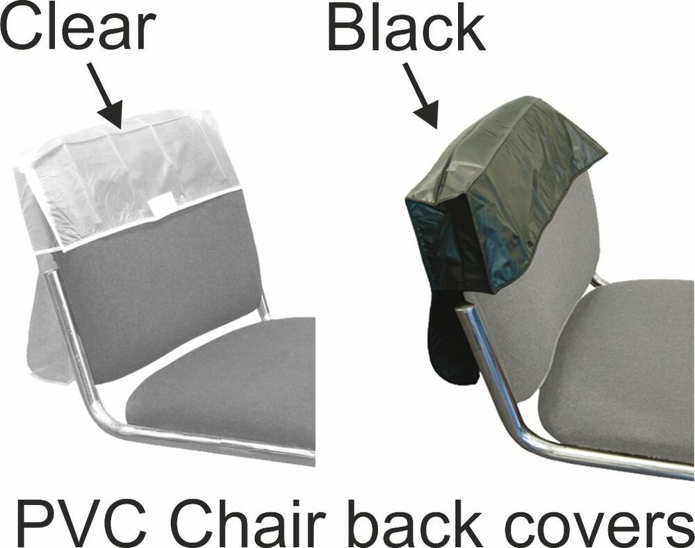 Chair Back Cover For Hairdressing Seats Or Similar PVC