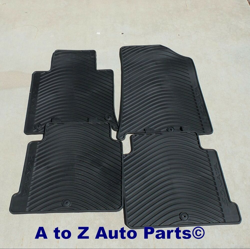 NEW 20152016 Hyundai Sonata FRONT  REAR set of All