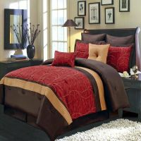 8pc- Atlantis Red, Gold and Chocolate Luxury 8 piece ...