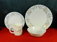 """20-PIECES OF ARCOPAL FRANCE """"CHAMPETRE"""" PATTERN CHINA ..."""
