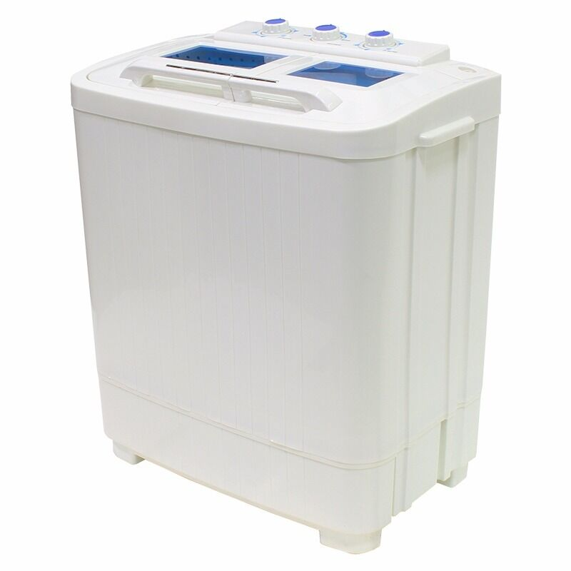 Mini Washer Machines Compact Portable 8  9LB Washing Spin Dryer Laundry RV Dorm  eBay