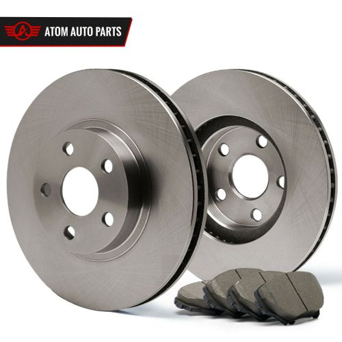 small resolution of details about front rotors w ceramic pads oe brakes grand caravan town country