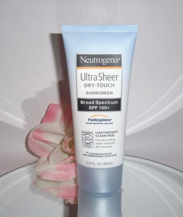 Neutrogena Ultra Sheer Dry Touch Sunscreen Broad Spectrum