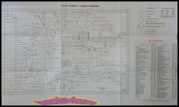 95 Ford Explorer Fuse Box Diagram Jaguar Xj6c Electrical Wiring Diagram Wall Chart Manual Ebay