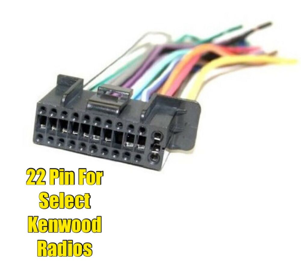 medium resolution of car stereo radio replacement wire harness plug for select jvc kd s29 wiring harness jvc car