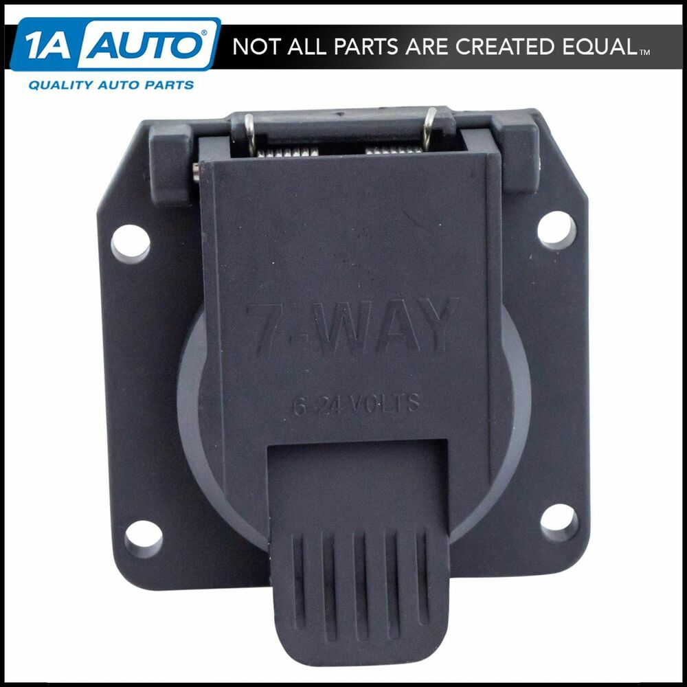 hight resolution of details about curt 55415 7 way 7 pin direct fit bolt on replacement vehicle socket