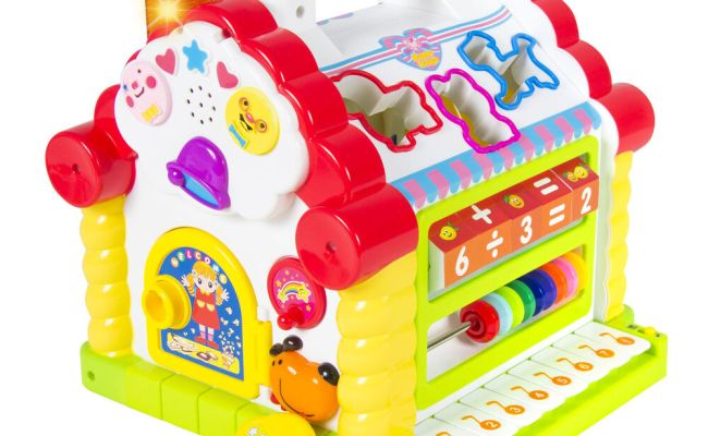 Kids Activity Toy Learning Cottage Music Lights Games