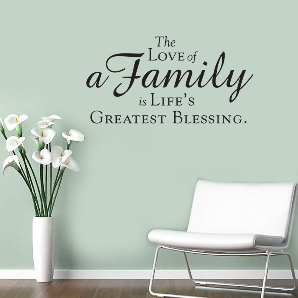 Download DIY Removable The Love of A Family is Life's Greatest ...