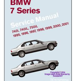 details about bentley diagram book repair guide service manual for e38 bmw 740i 740il 750il [ 840 x 982 Pixel ]