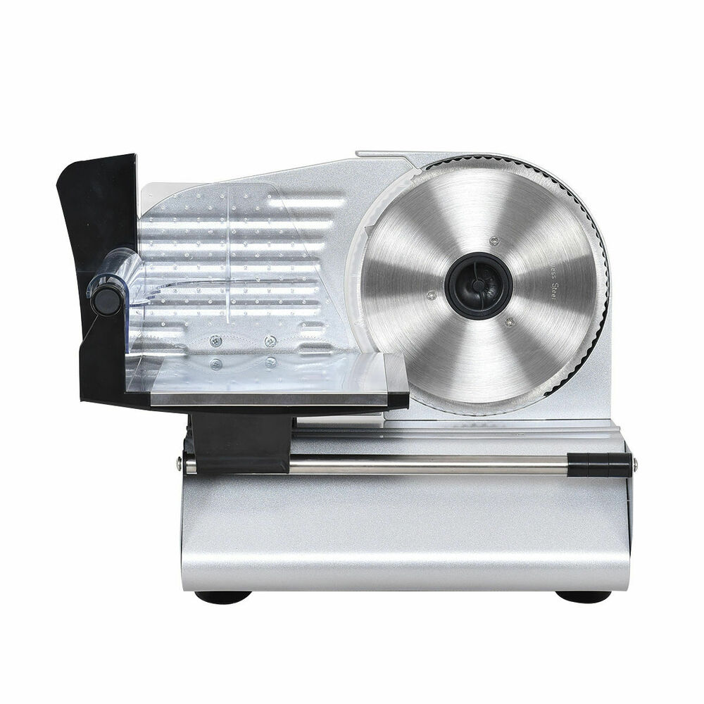 Goplus 75 Blade Electric Meat Slicer Cheese Deli Meat