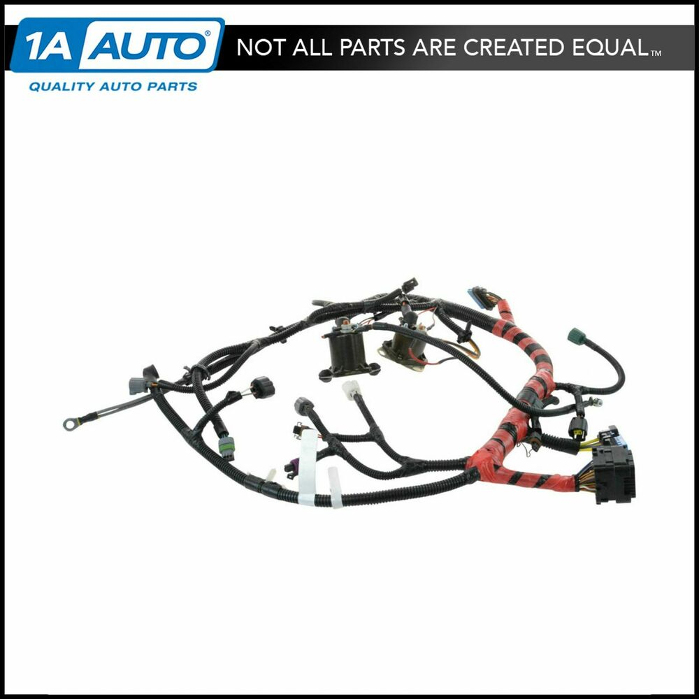 hight resolution of details about oem f81z12b637fa main engine wiring harness for super duty pickup truck suv new