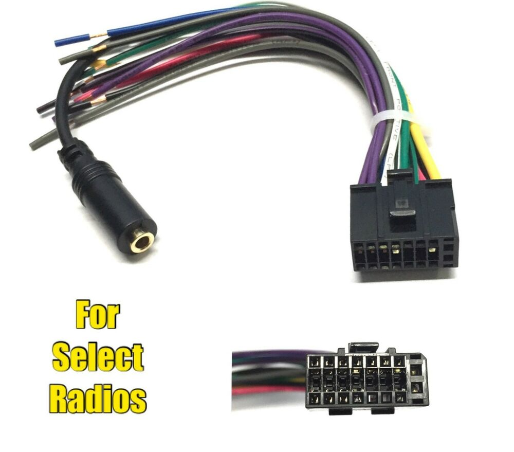 wiring harness for car stereo