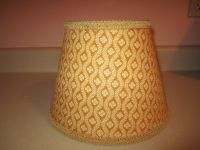 Pierre Deux Lamp Shade Chloe Gold Sage Taupe French