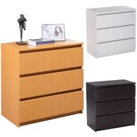 3 Drawer Storage Cabinet Bedroom Office Furniture Unit ...