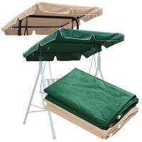 Waterproof Swing Canopy Patio Porch Top Cover Replacement ...