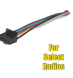 car stereo radio wire harness for select pioneer or pioneer avh 290bt wiring pioneer avh 2330nex wiring diagram [ 971 x 1000 Pixel ]