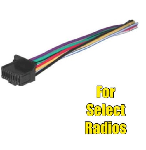 small resolution of car stereo radio wire harness for select pioneer or pioneer avh 290bt wiring pioneer avh 2330nex wiring diagram