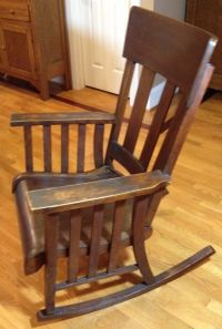 Antique Oak Heywood Brothers and Wakefield Company Mission ...