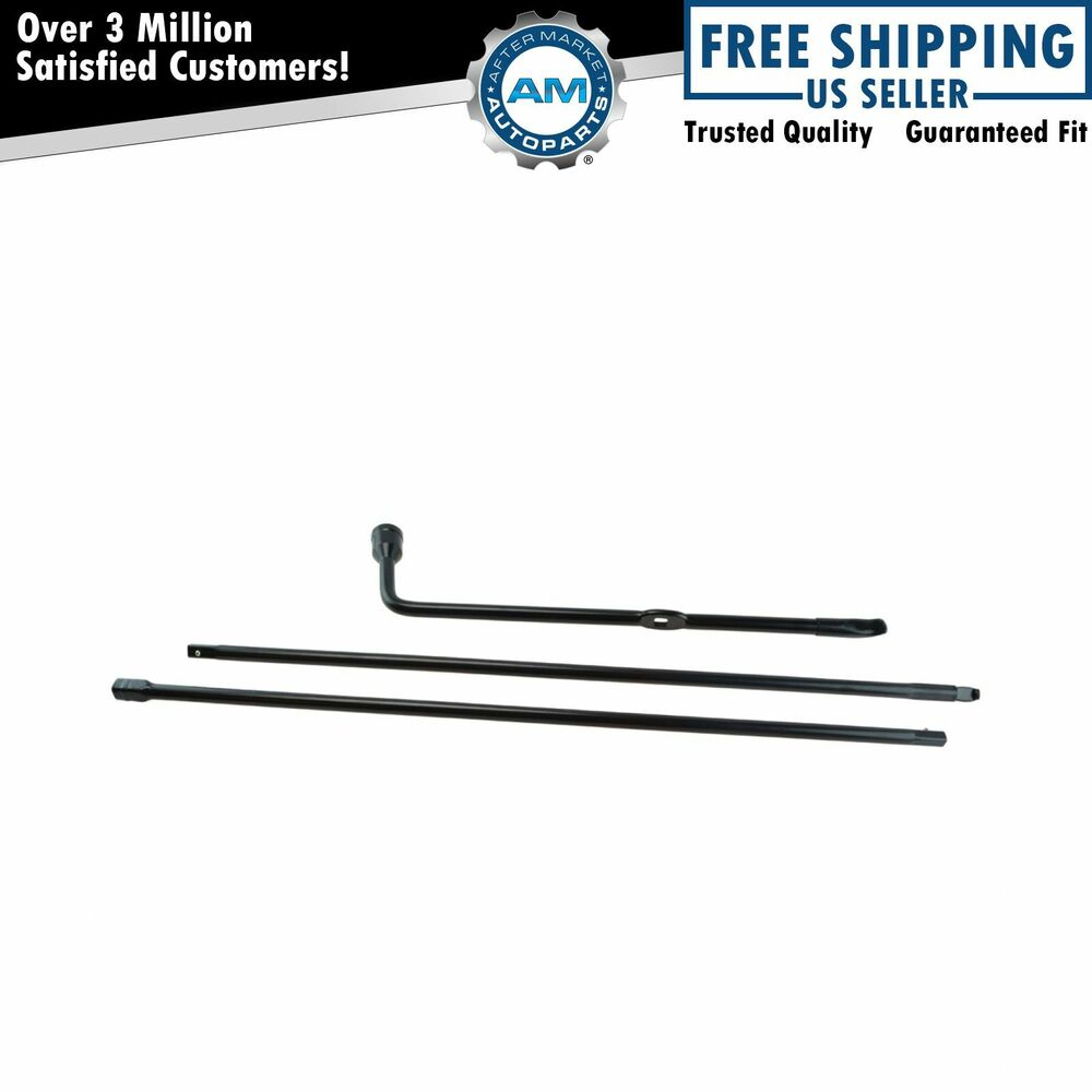 Spare Tire Lug Wrench & Jack Tool Kit for Ford F250 F350