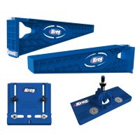 Kreg Drawer Slide Mounting Tool w/ Cabinet Hardware Jig