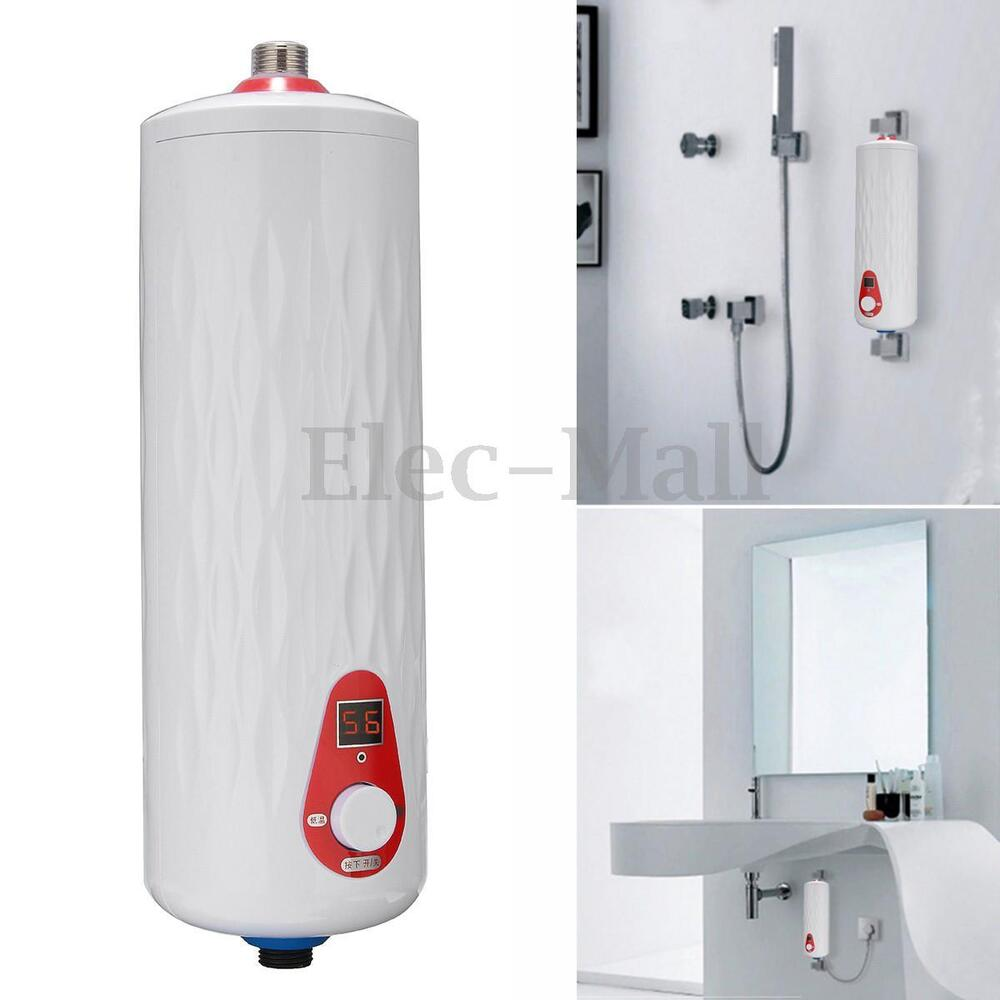 instant water heater kitchen sink wall tile for 5500w mini electric hot tankless ...