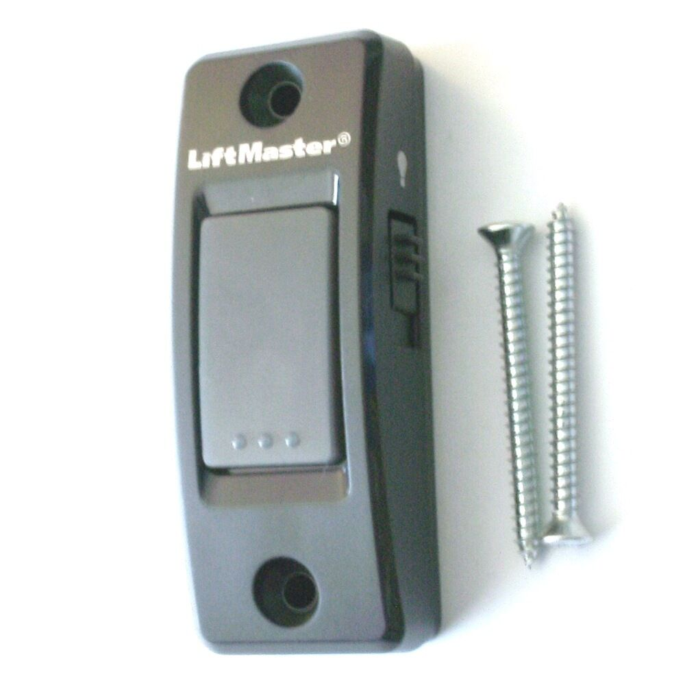 LiftMaster 883LM Security 20 And MyQ Garage Door Wall Button With Light Switch 12381088348  eBay