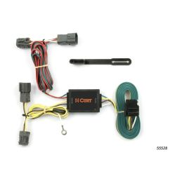 details about trailer connector kit custom wiring harness 55528 fits 05 09 hyundai tucson [ 1000 x 1000 Pixel ]