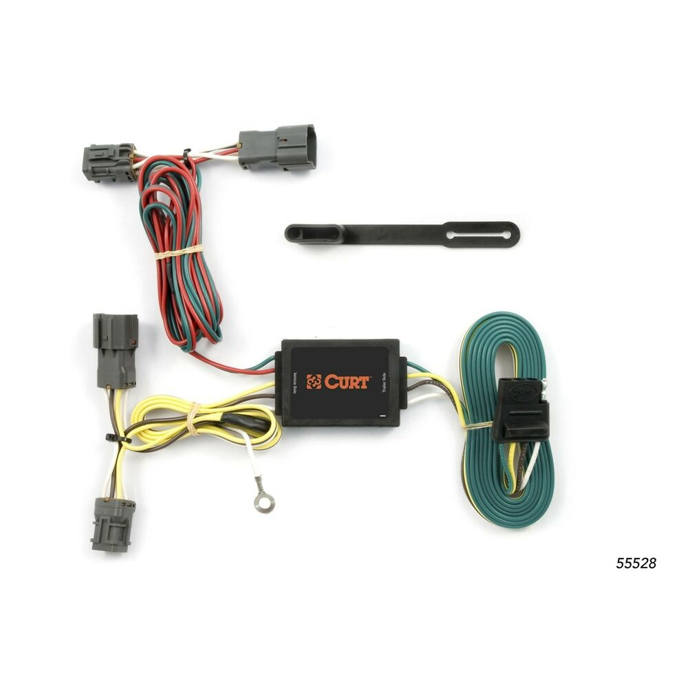 hight resolution of details about trailer connector kit custom wiring harness 55528 fits 05 09 hyundai tucson