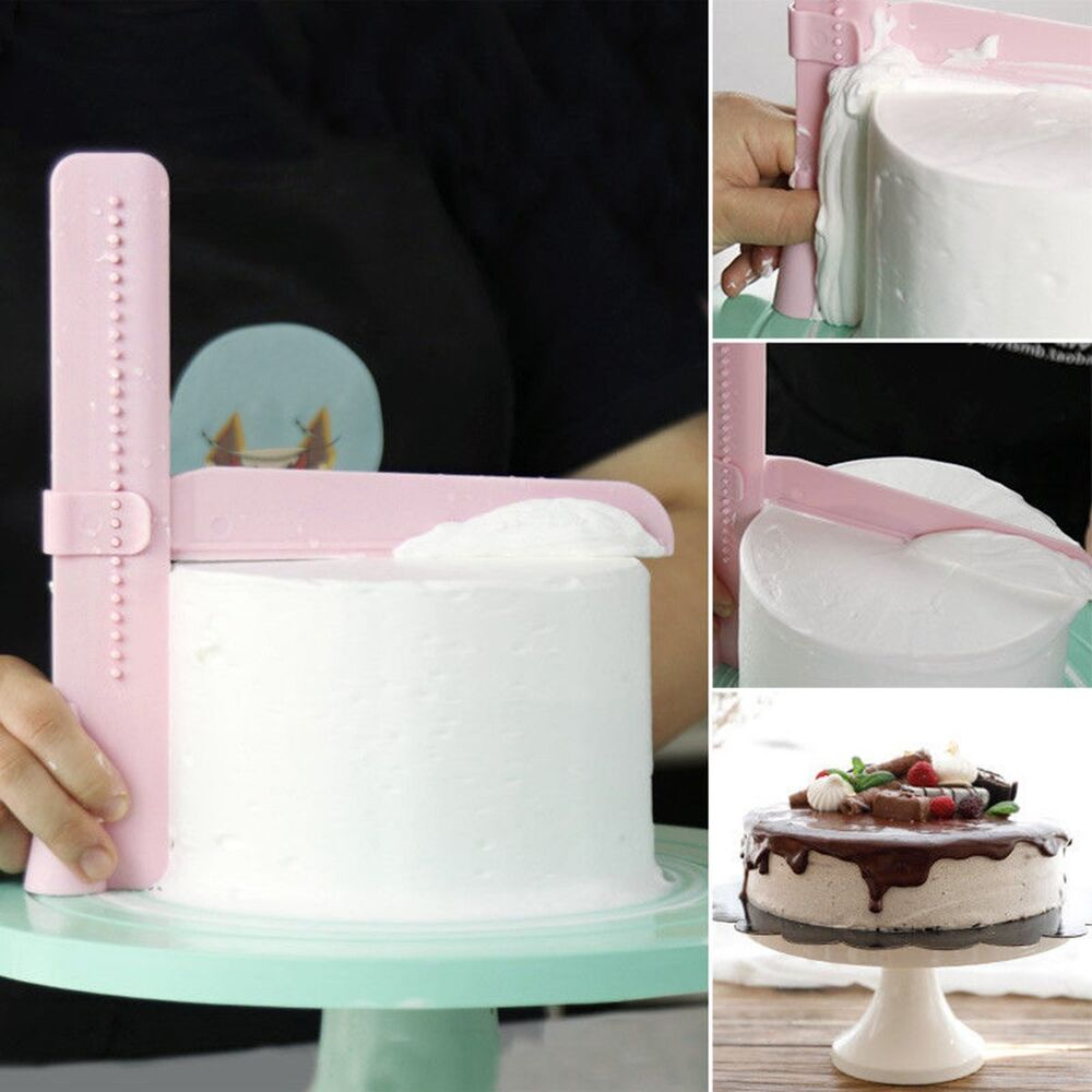 Adjustable Cake Smoother Tools Cutter Decorating Fondant